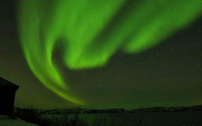 Vonattal a Sarkkörre – Északi fény